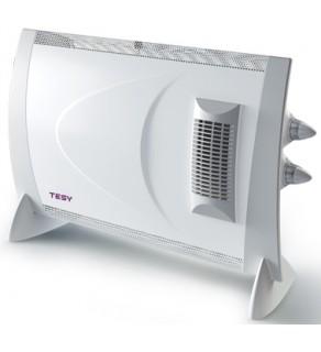 Convector Tesy CN 202 ZF, de podea, 2000W, 2 trepte de putere, turbo ventilator incorporat