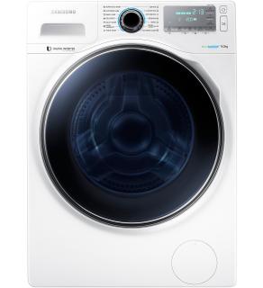 Masina de spalat rufe Samsung WW80H7410EW, Blue Crystal, Incarcare Frontala, Clasa A+++, 1400rpm, 8 Kg, Afisaj LCD, Alb