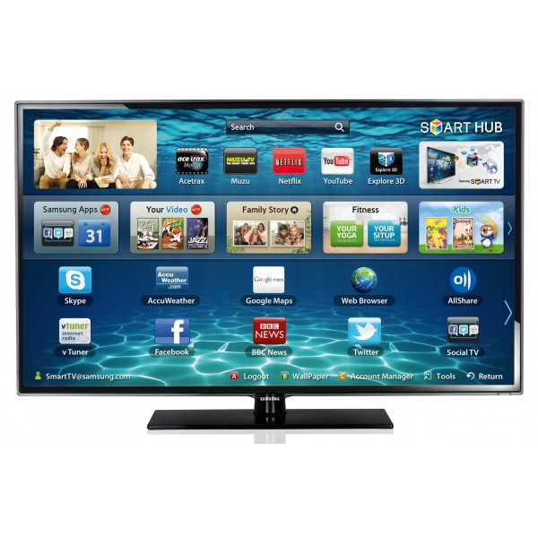 televizor led samsung ue32h5500 smart tv full hd 81 cm dvb t c clear motion rate 100 hz. Black Bedroom Furniture Sets. Home Design Ideas
